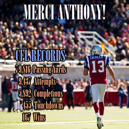 Anthony_Calvillo_CFL_Records